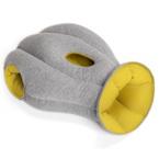 Kopfschlafsack - Büroschlafsack in gelb